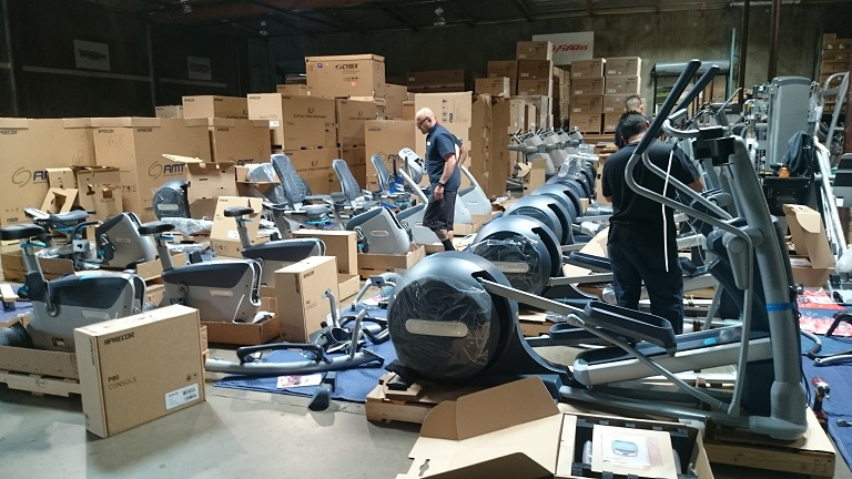 Gym Equipment Delivery and Installation Primo