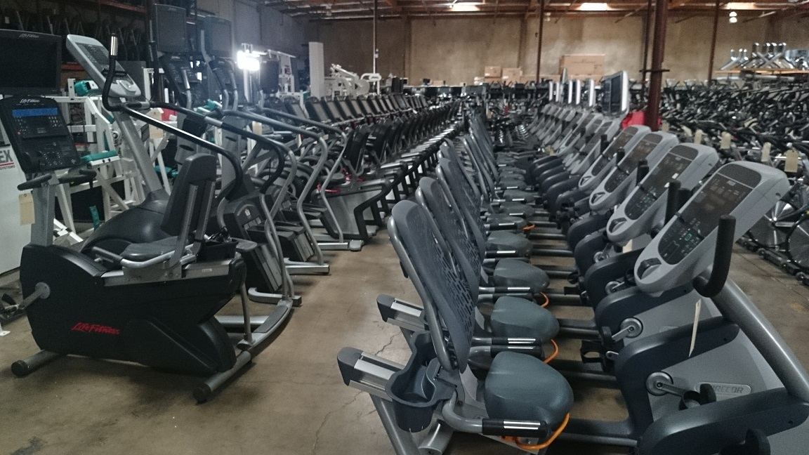 Used gym equipment Russia