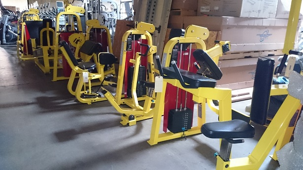 Precor Icarian Strength Line (Yellow)