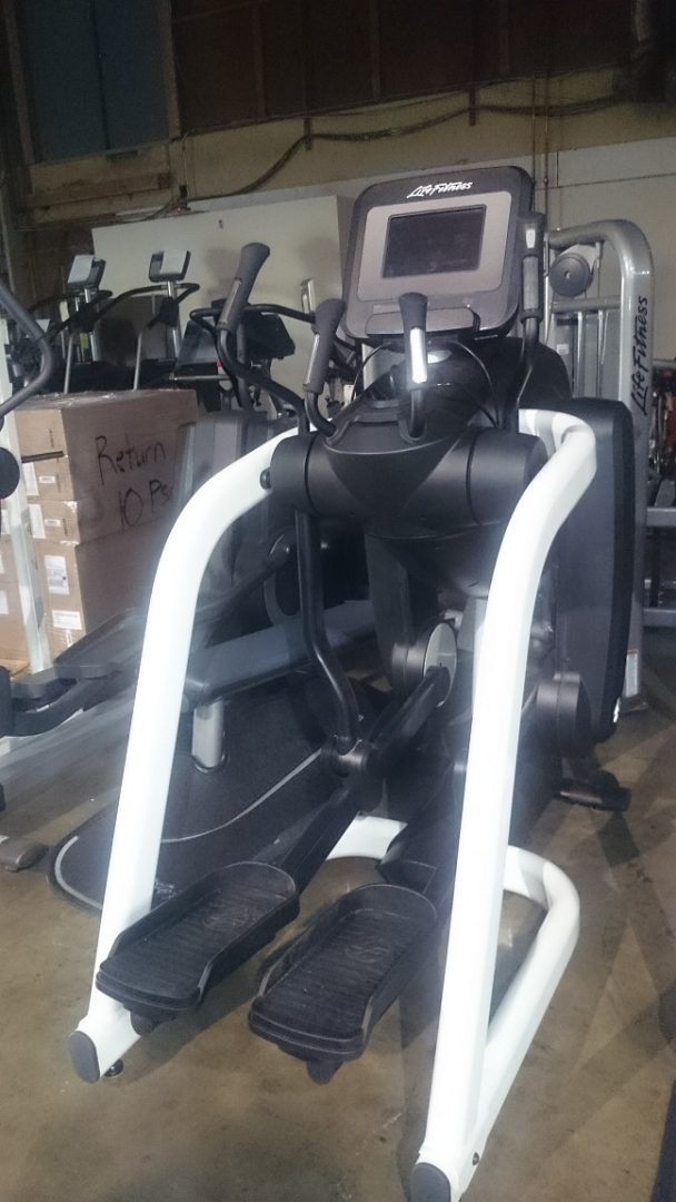 Life Fitness FlexStrider Trainer with Discover SI 1