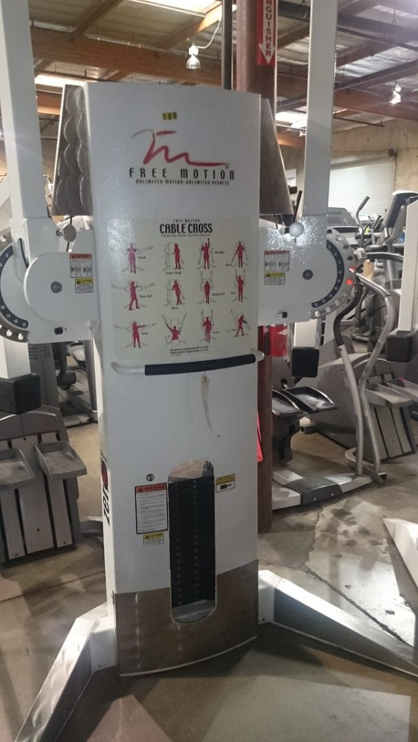 Freemotion Dual Cable Cross And Single Cable Cross Primo Fitness