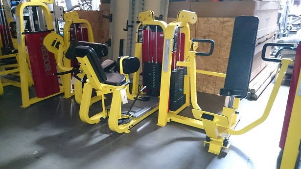 Precor Icarian Strength Line (Yellow) 5