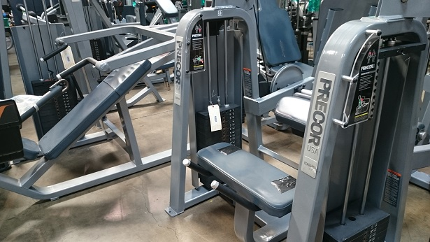 Precor Icarian Strength Circuit Sliver Frame Dark Blue