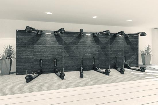 Technogym Kinesis Class Functional Training Wall Primo