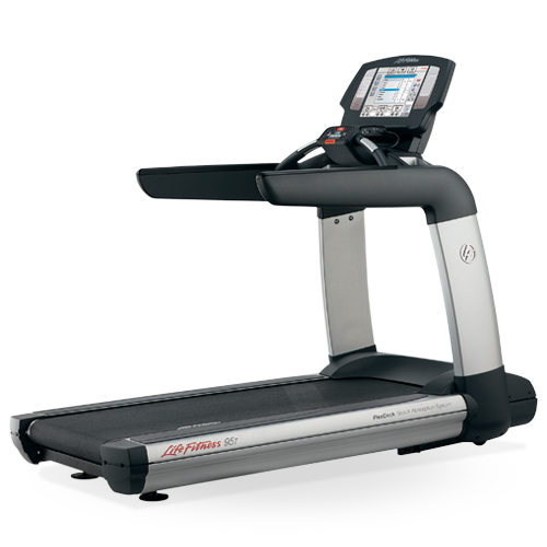 Commercial Treadmill Used: Life Fitness 95T Engage Treadmill