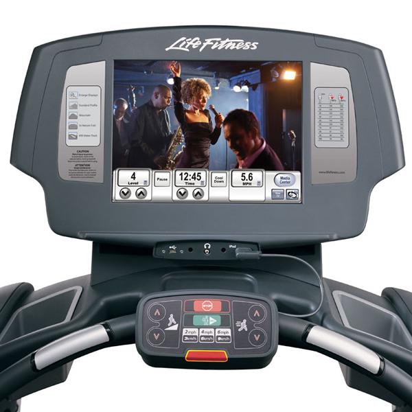 Life Fitness Treadmill Comparison: Life Fitness 95T Engage Treadmill
