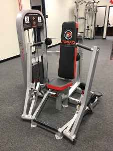 Custom logo on gym equipment