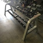 Life Fitness Fit Series Two Tier Dumbbell Rack