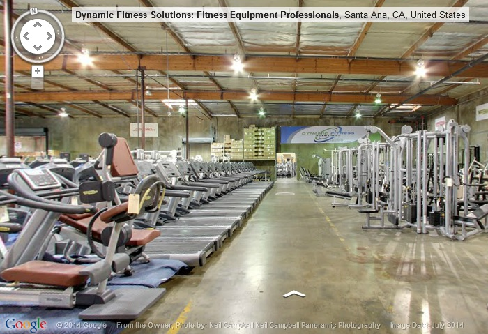 Fitness Equipment Warehouse Virtual Tour