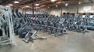 Used gym equipment warehouse