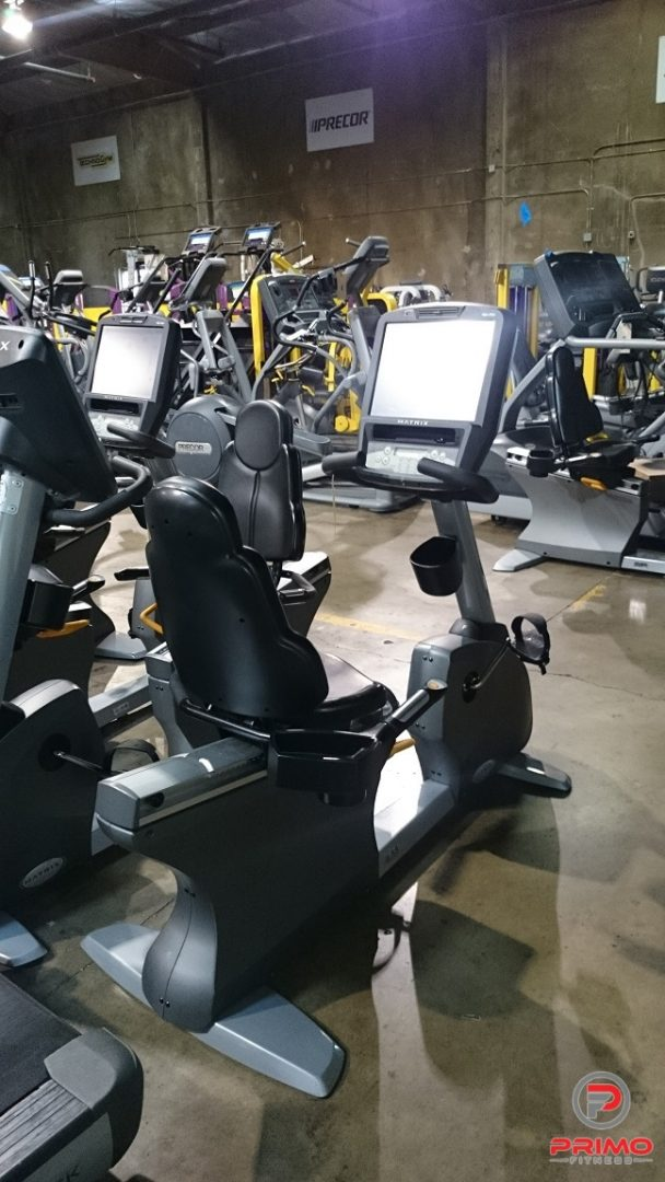 Matrix Touchscreen Recumbent Bike