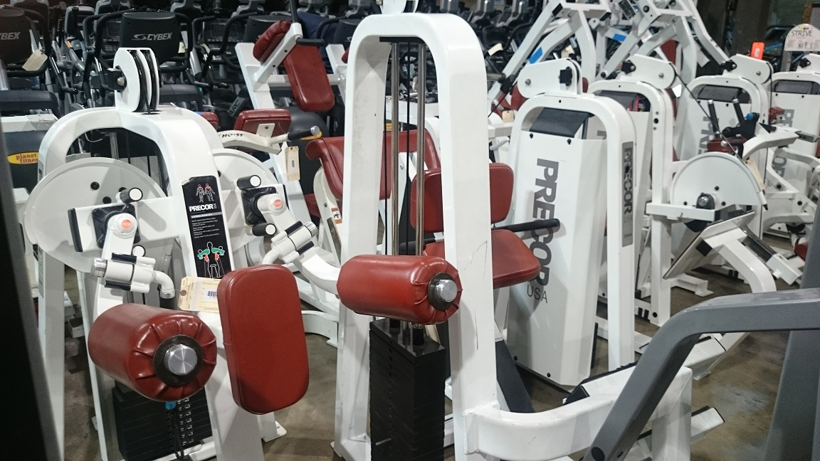 Precor Strength Line (White Frame)