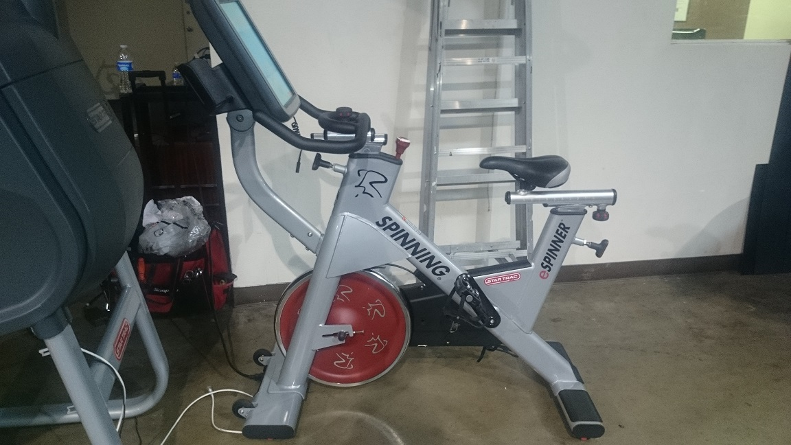 Star Trac eSpinner Bike 1