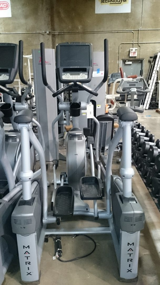 Matrix X7e (Ascent) Elliptical Crosstrainer (touchscreen) 1