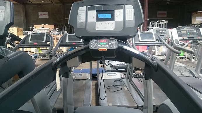 Used Life Fitness 95T Inspire screen