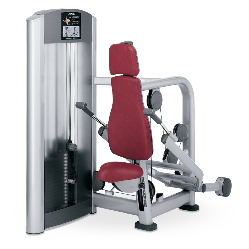 Life fitness signature series triceps press primo fitness for Gym life fitness