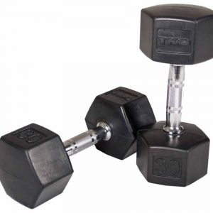 TKO Contour Grip Hex Dumbbells