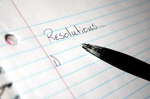 New Year's Resolutions List