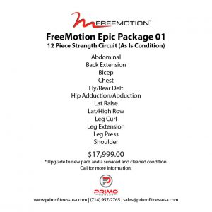 Freemotion Epic Package 01