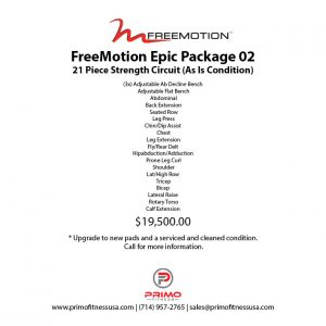 Freemotion Epic Package 02