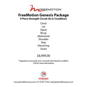 Freemotion Genesis Package1