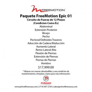 Paquete Freemotion Epic Package 01
