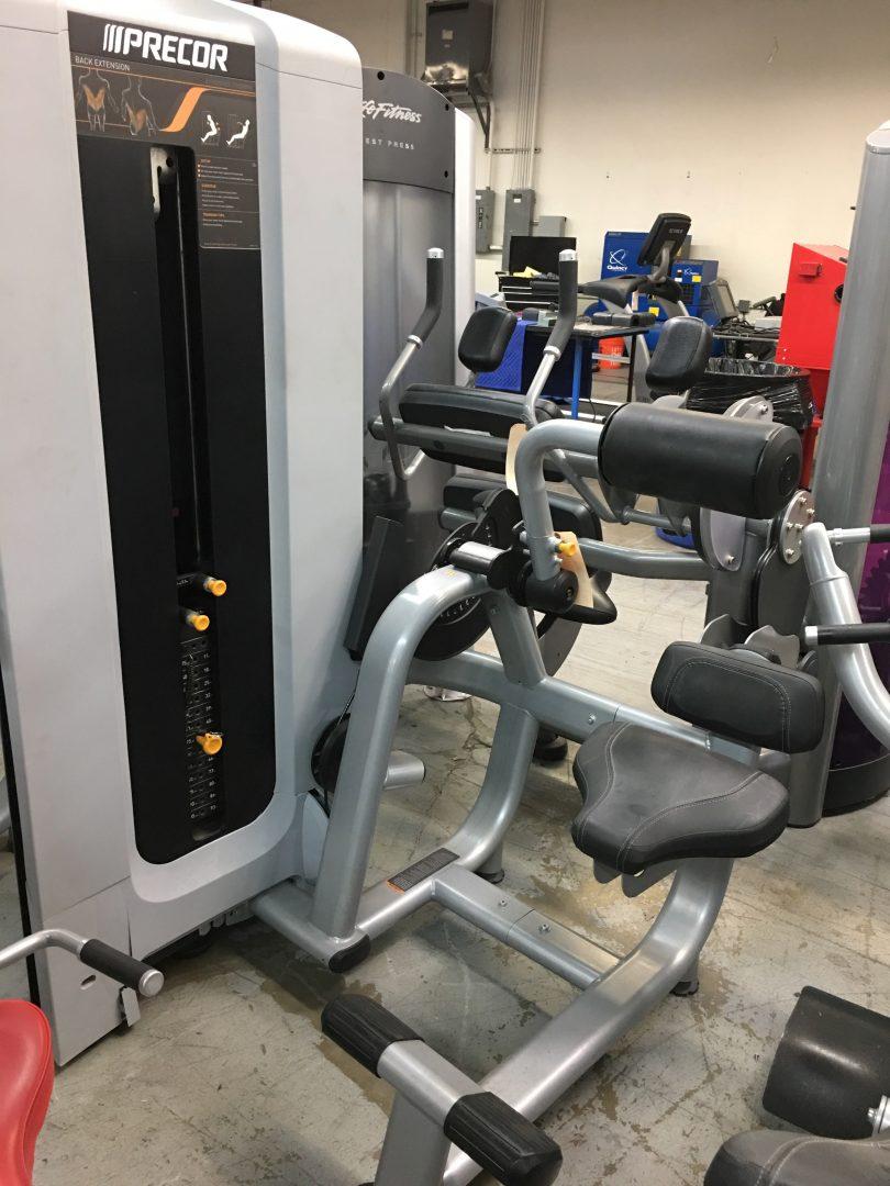 Repair exercise equipment / Texas motor speedway duck