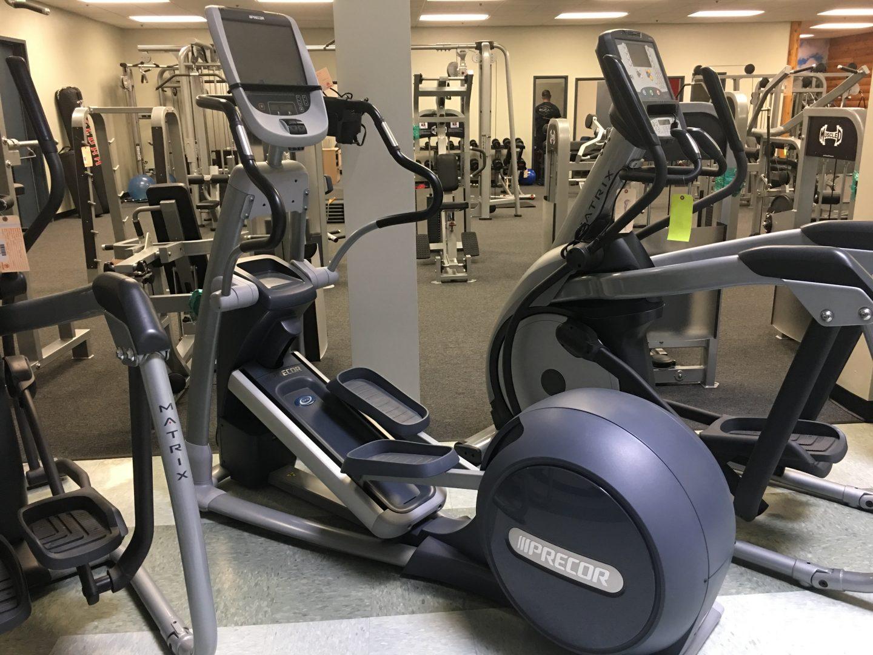 Paquete de gimnasio precor a la venta equipo de gimnasio for Aparatos de gimnasio usados