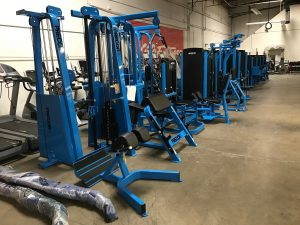 Blue Custom Color Frame for your strength equipment