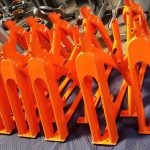 Orange Custom Color Frames