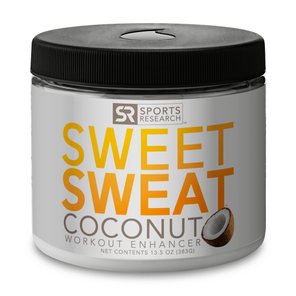 Sports Research Sweet Sweat Coconut 13.5 oz
