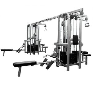 Signature Style 8 Stack Multi-Station Jungle Gym