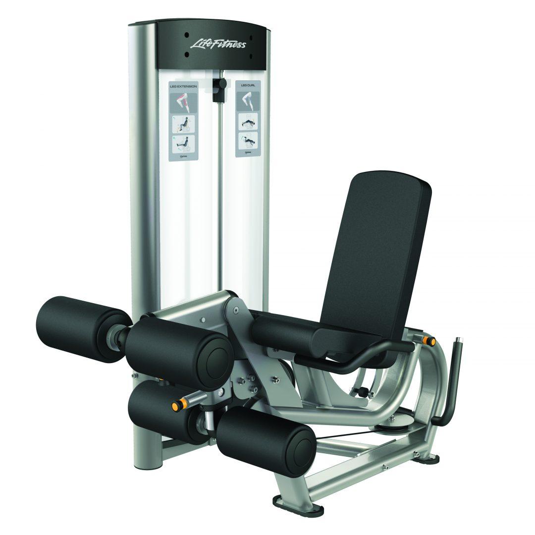 Life Fitness Optima Leg Extension Curl Dual Function Machine