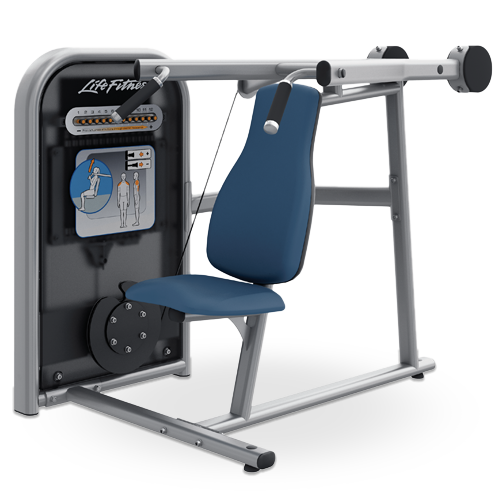 Life Fitness Circuit Series Shoulder Press machine