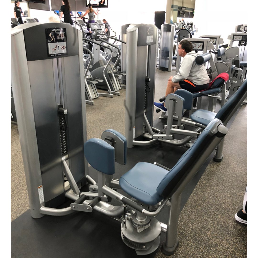 SOLD! Life Fitness & Hammer Strength Gym Equipment Package ...