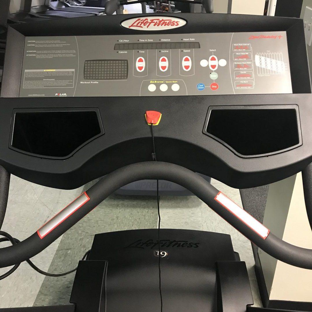 Life Fitness Treadmill Won T Start: Life Fitness T9 Treadmill