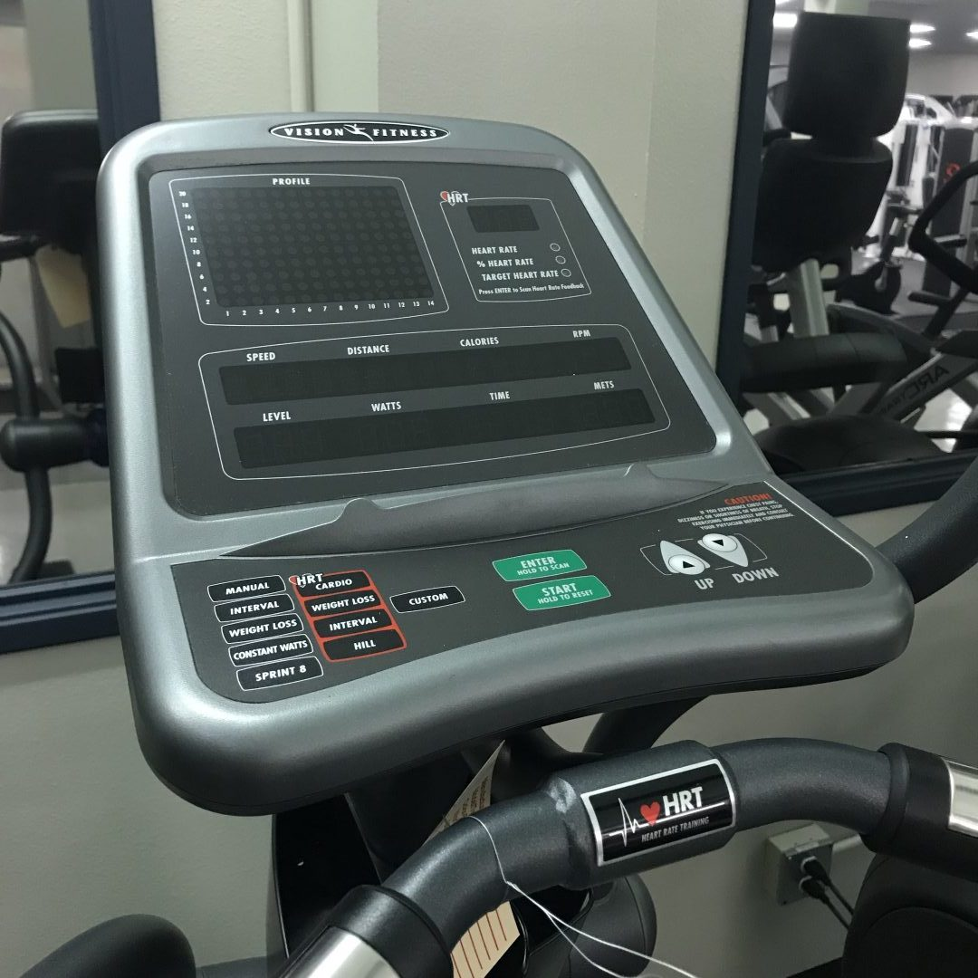 Vision Fitness Elliptical X6600 Hrt Primo Fitness