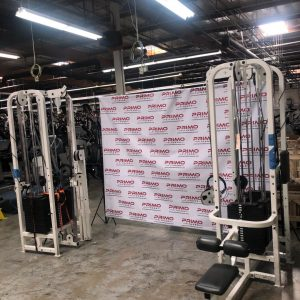 Life Fitness Pro1 8 Stack plus 8 Piece Strength Gym Package
